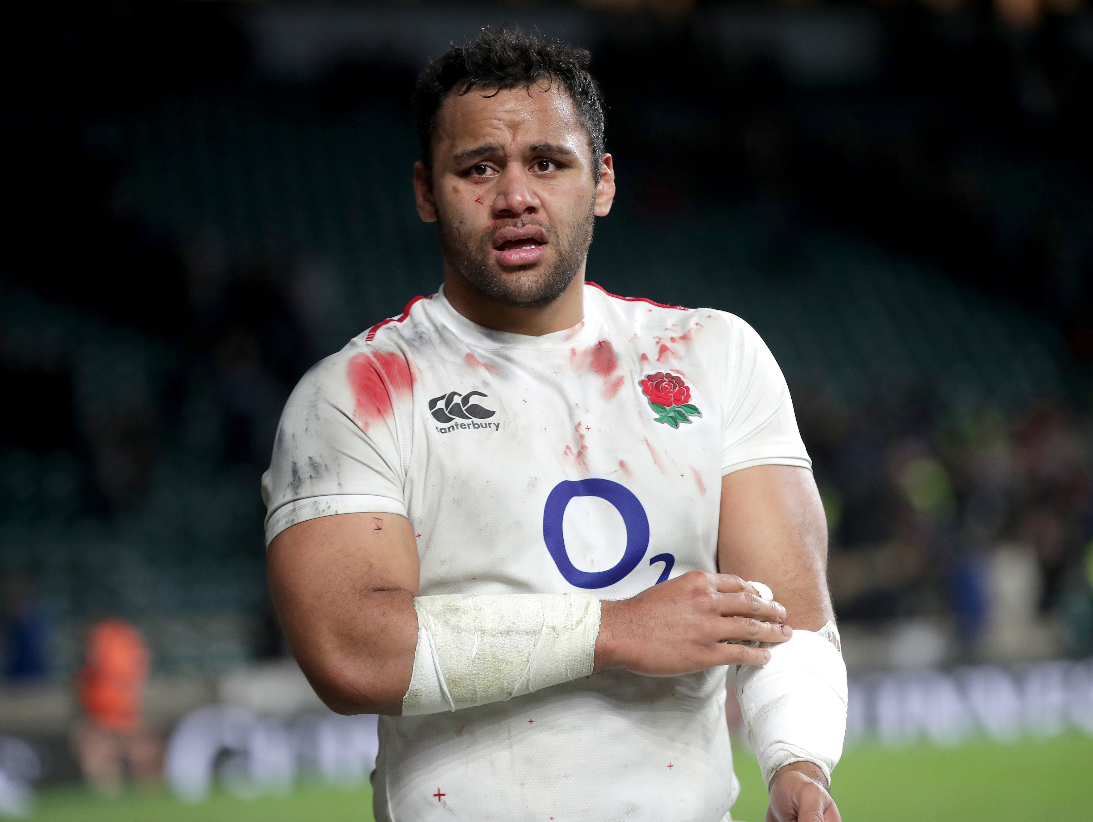 Billy Vunipola made his England debut in 2012 and has since won 52 caps