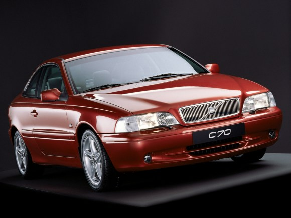 Ian says he helped put shape in the C70 Volvo had never seen before