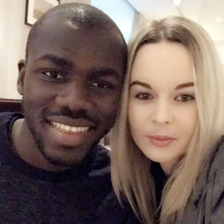 Koulibaly keeps his personal life quiet, and his married to childhood sweetheart Charline