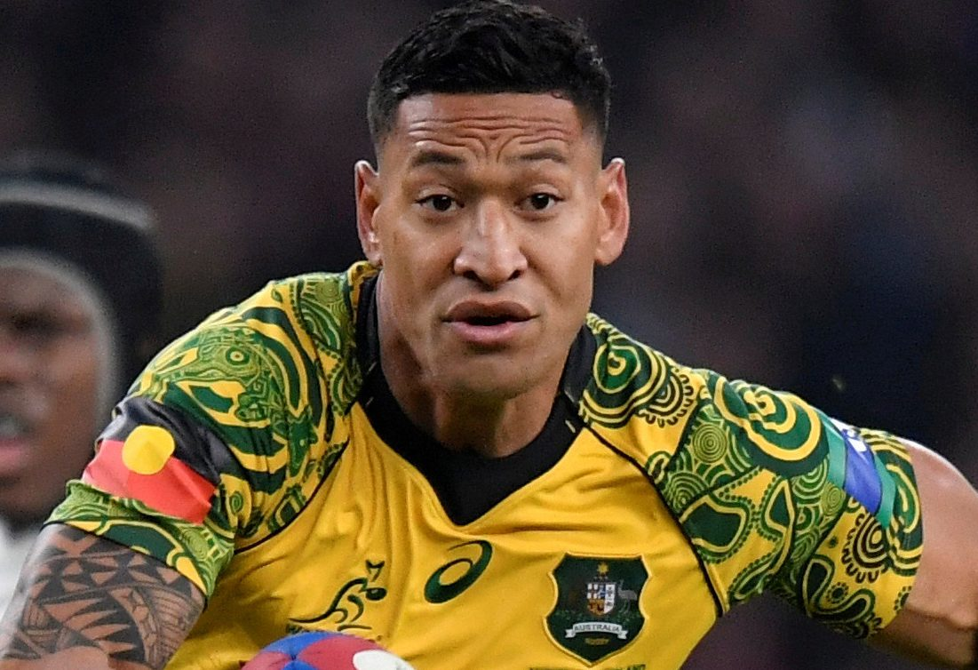 Israel Folau was sacked by Australia Rugby over his anti-gay comments