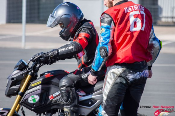 Whatever your level, the Ron Haslam Race School can help