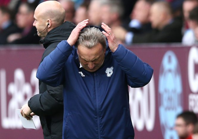 Warnock couldn't believe it as Cardiff were left miles adrift of safety