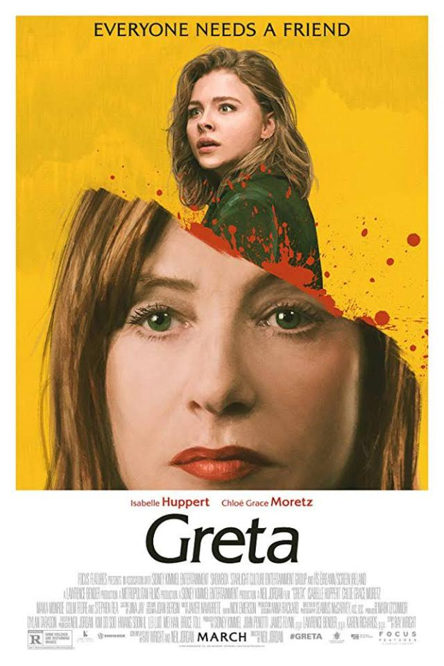 The horror flick is centred around obsessive Greta and waitress Frances