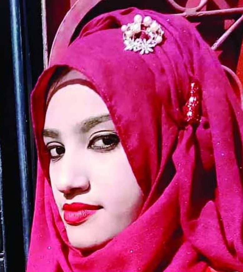 Nusrat Jahan Rafi was burned alive by a mob after accusing her head teacher of sexual assault