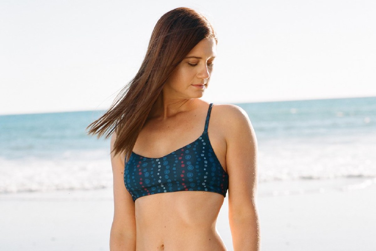 Harry Potter S Bonnie Wright 28 Looks Nothing Like Ginny Weasley As She Models Recycled Bikini
