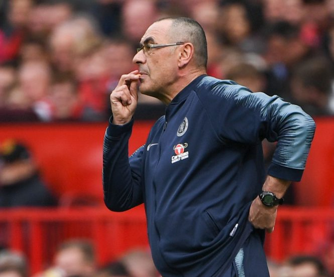 Maurizio Sarri and Chelsea are still no closer to knowing if they will be able to sign players this summer or not