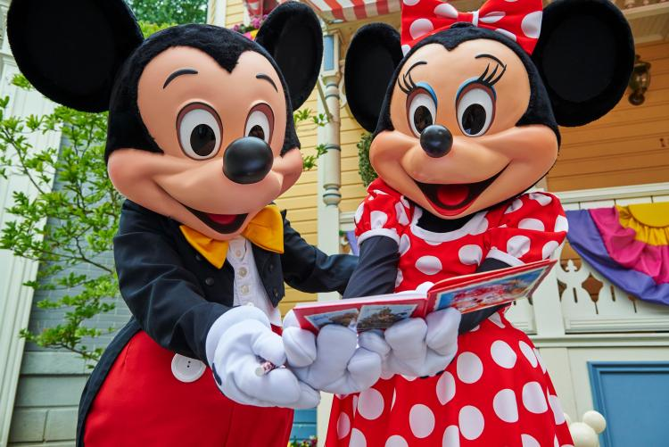 Want to hug Mickey Mouse? Download the free Lineberty app to book meet and greets with characters