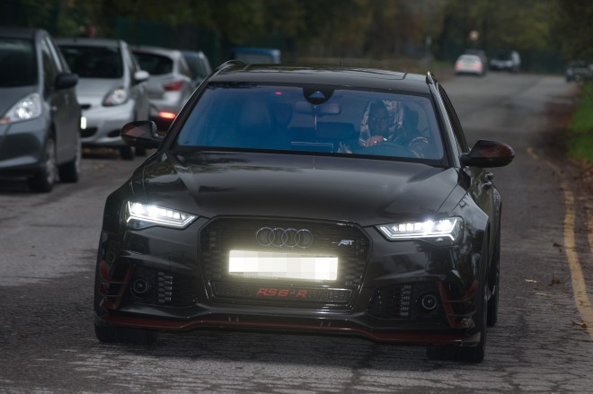 Following in the footsteps of Lionel Messi, Pogba got himself a Audi RS6-R valued at around £105k