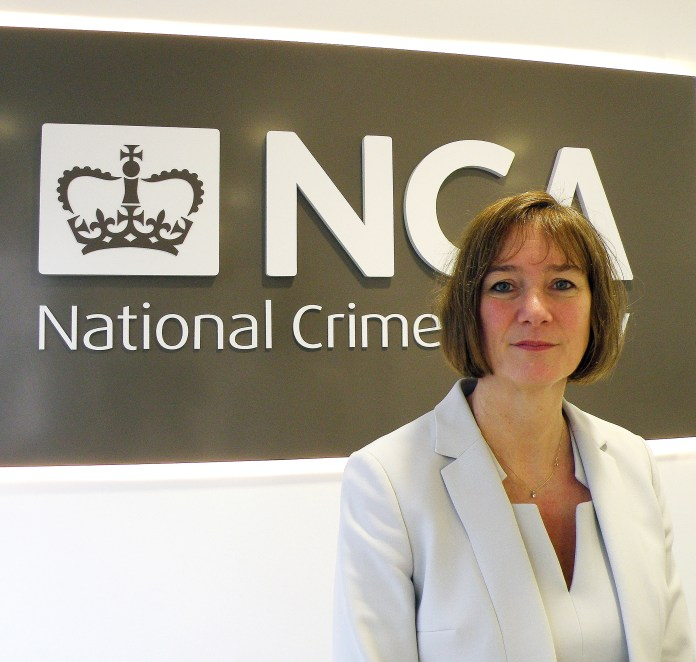 NCA chief Lynne Owens warns that the scale of organised crime in Britain 'is truly staggering'