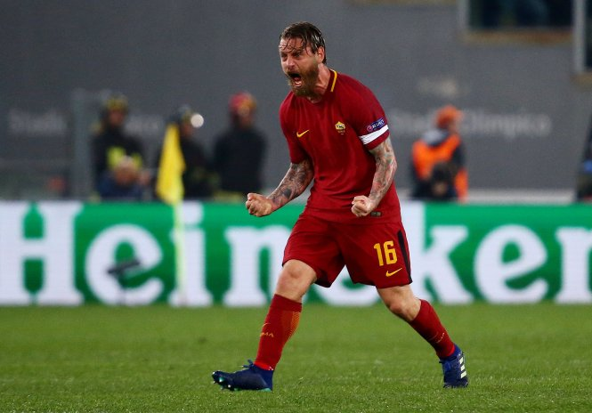 But despite all his efforts, a Serie A title always eluded De Rossi
