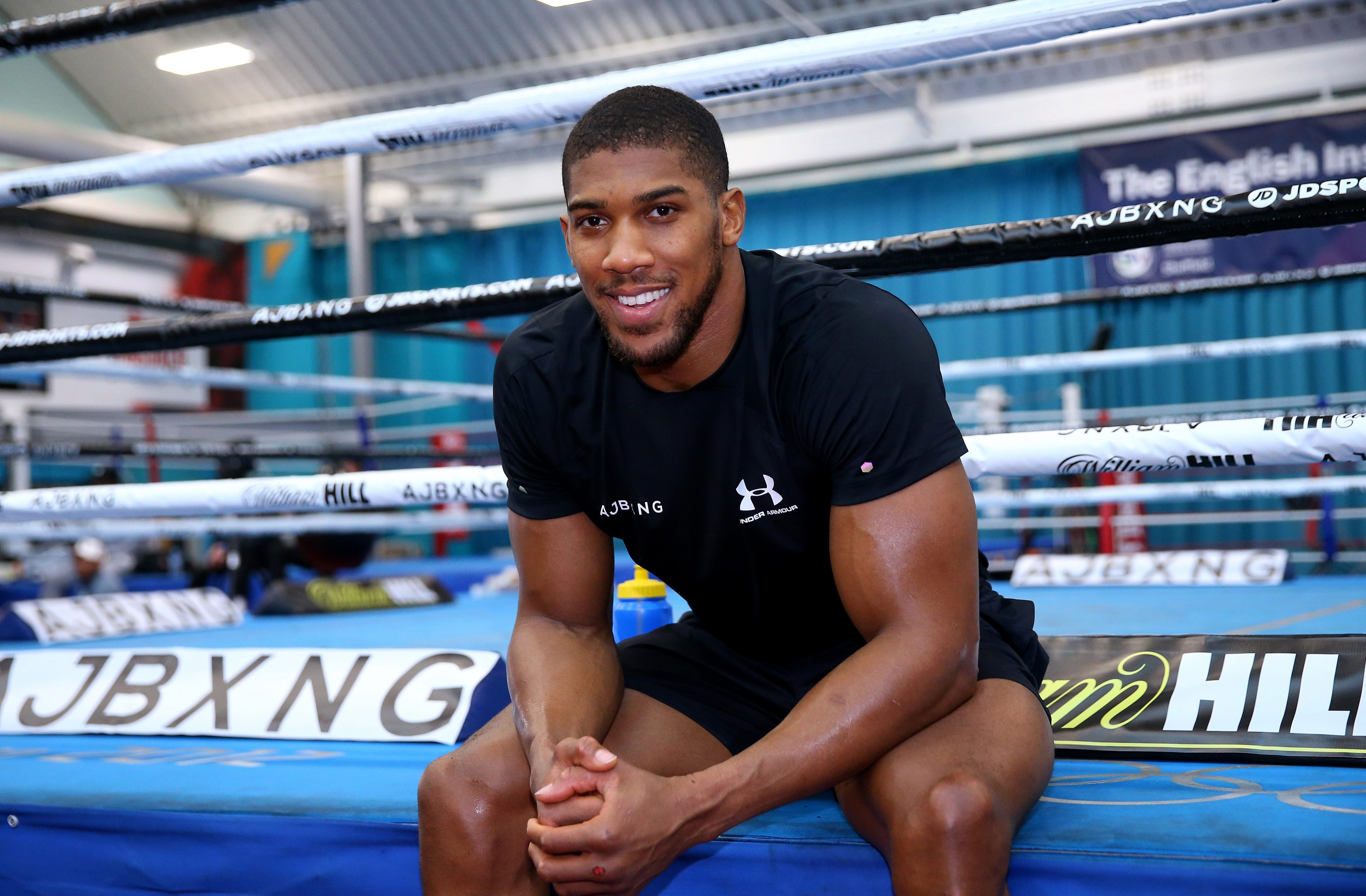 Joshua is aiming to put on a show when he makes his American debut at Madison Square Garden