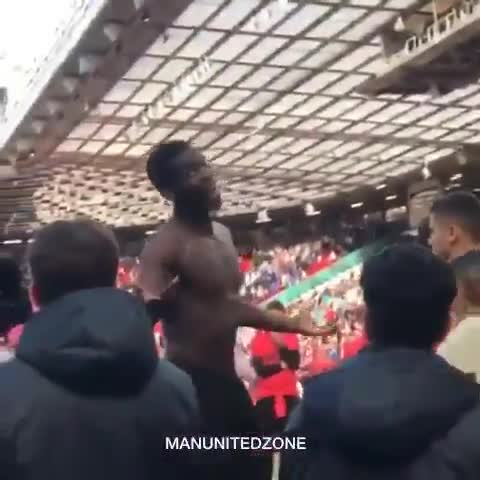 Pogba was told to 'f*** off' by one angry man
