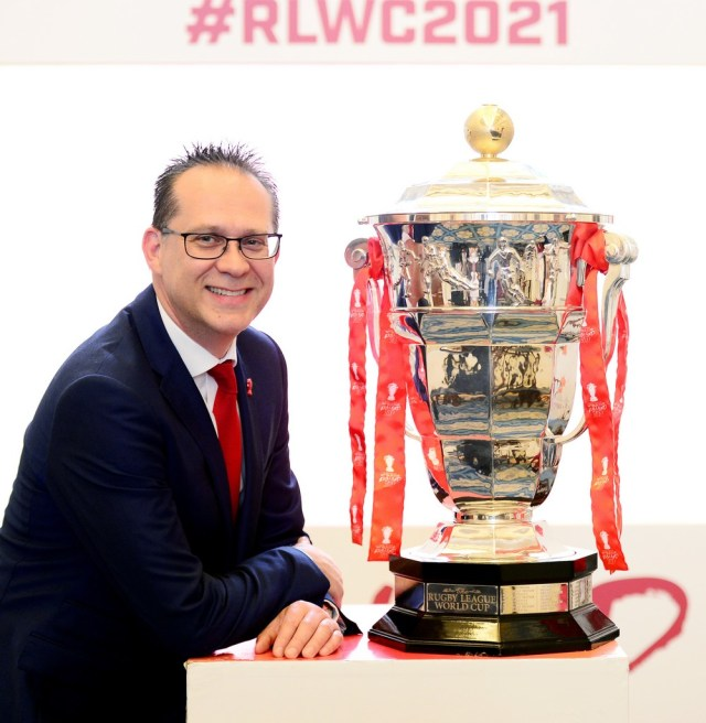 Rugby League World Cup chief executive Jon Dutton has welcomed the roadmap out of lockdown
