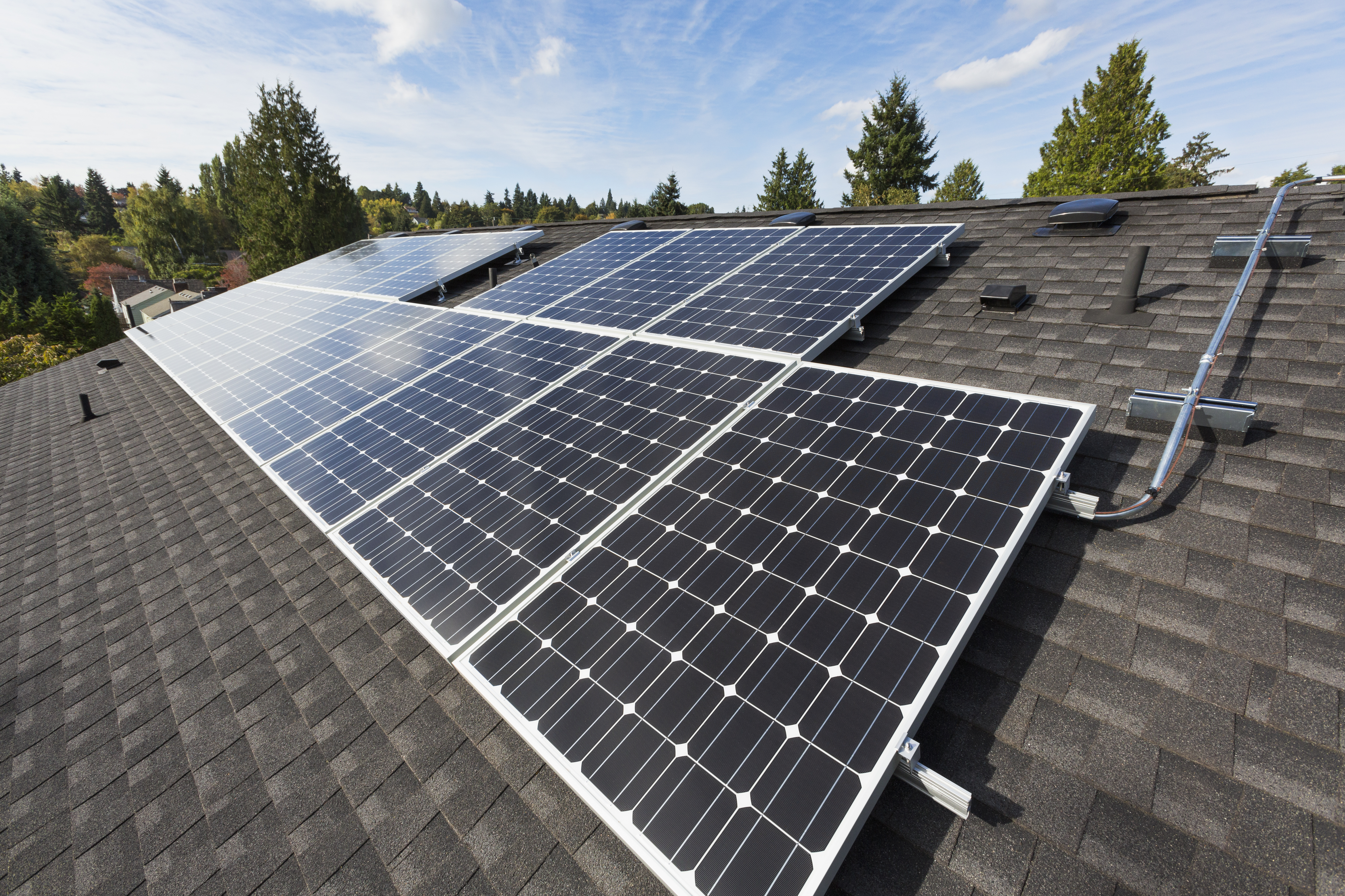 home owners with solar