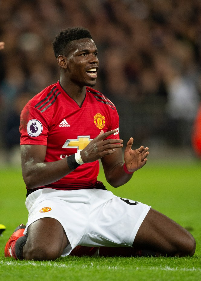 Paul Pogba has persistently been linked with a move away from Man Utd, with Real Madrid and old club Juventus keen
