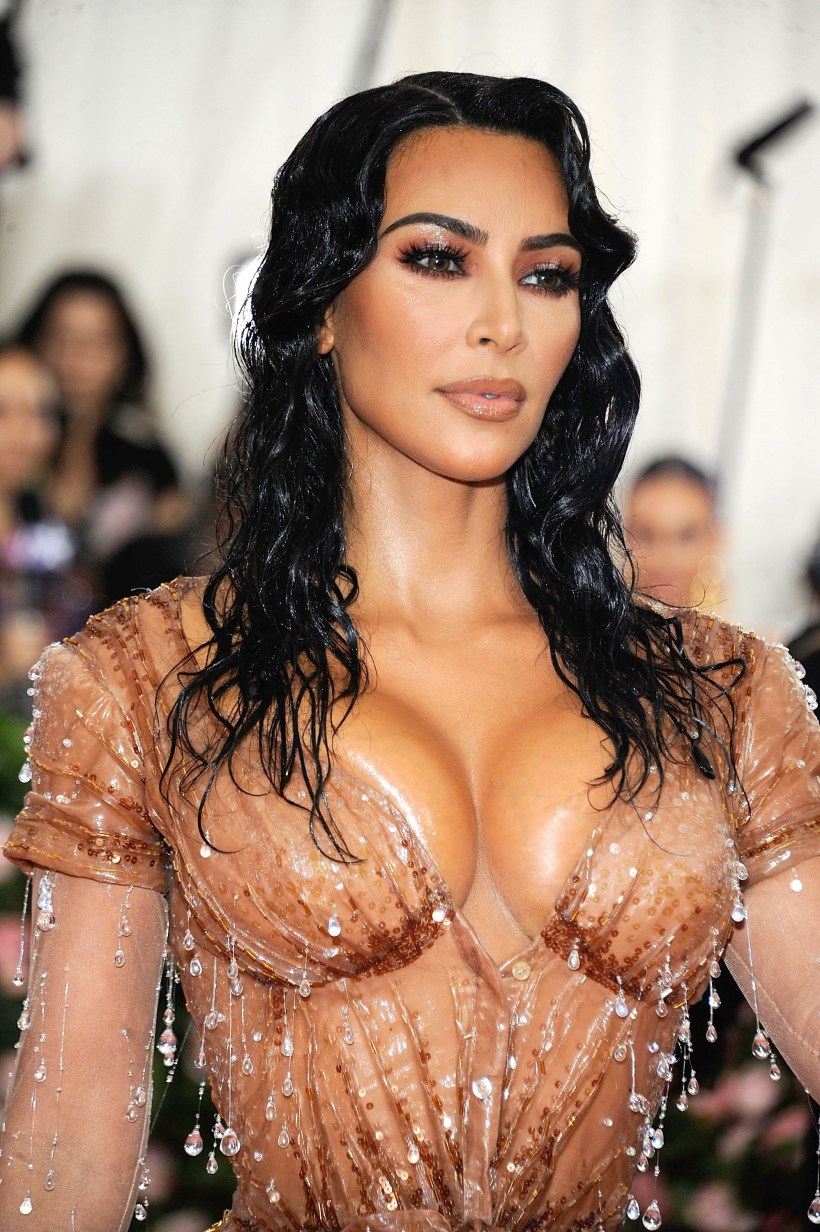 Kim Kardashian stunned at the Met Gala - and now it turns out she is related to Conor McGregor