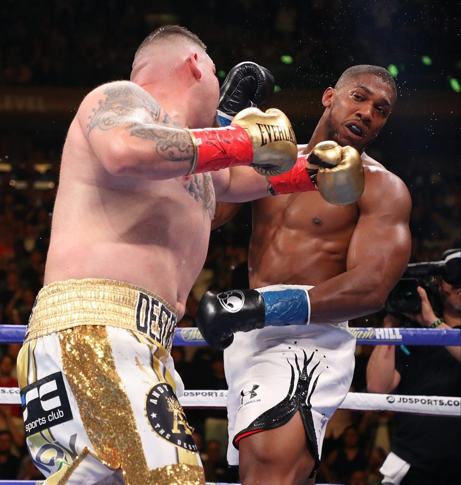 Anthony Joshua Concussed During Savage Beating By Andy