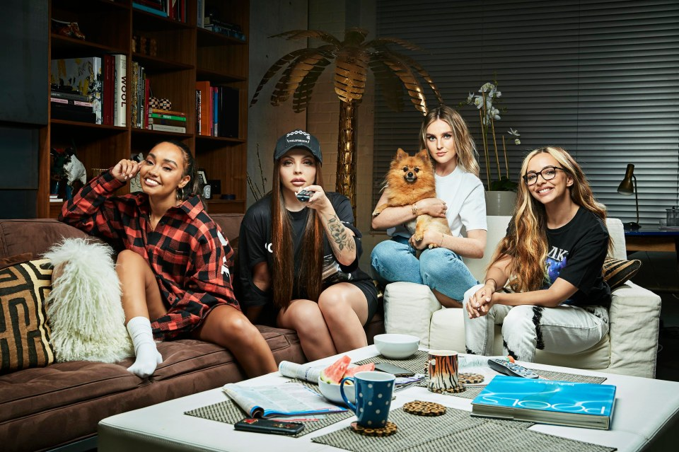 The Little Mix foursome get to make scathing comments about TV shows on Celebrity Gogglebox