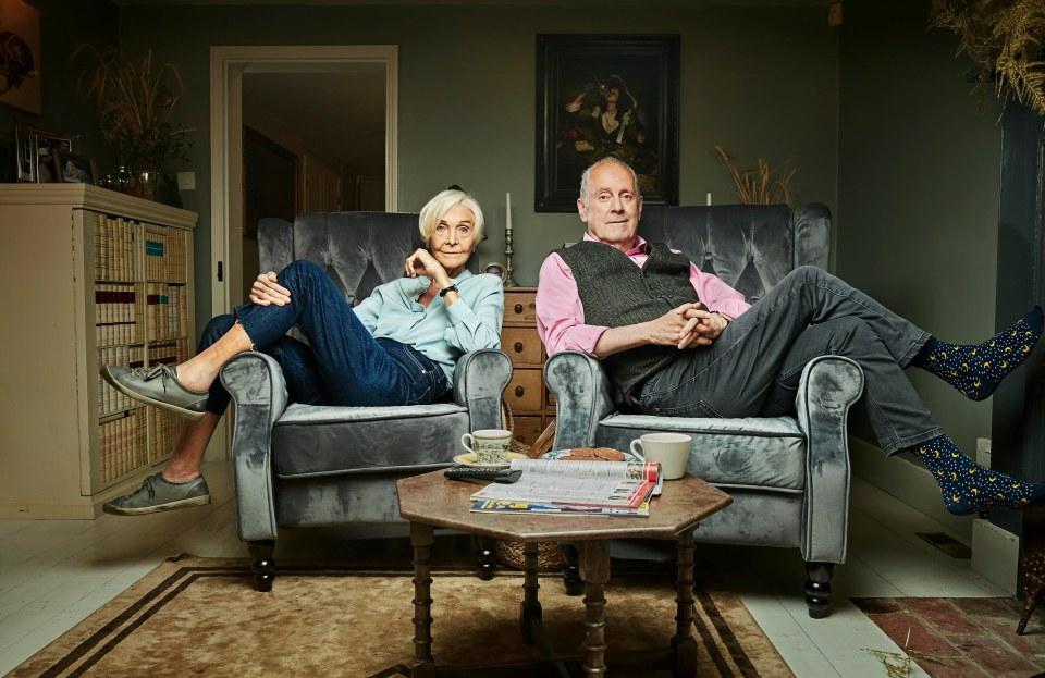 Gyles Brandreth and Sheila Hancock will be providing commentary on the sofa