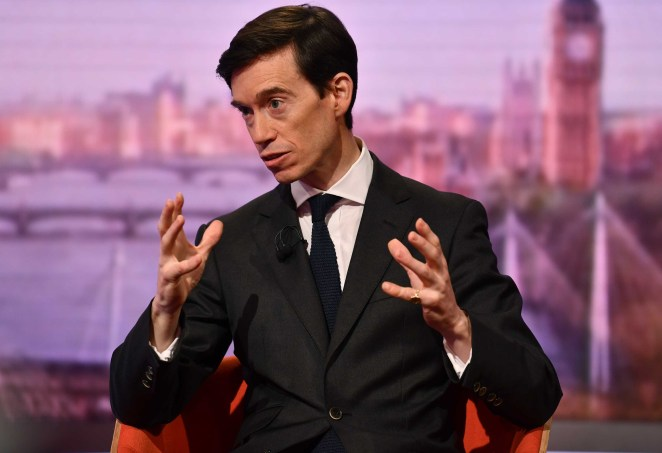 PM hopeful Rory Stewart has been dubbed 'the David to Boris' Goliath'