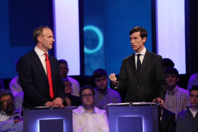 Digital Minister Ms James endorsed Rory Stewart saying he was 'energetic, determined and embracing the centre ground'