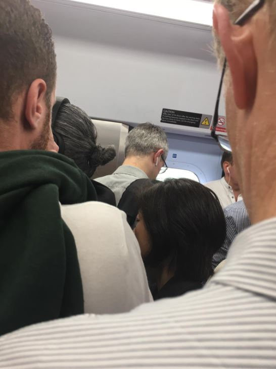 This passneger shared this image while commuting between New Malden and Raynes Park this morning during the first day of SWR strikes