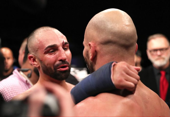 Despite the bad blood in the build-up, there was a mutual respect at the end of the fight