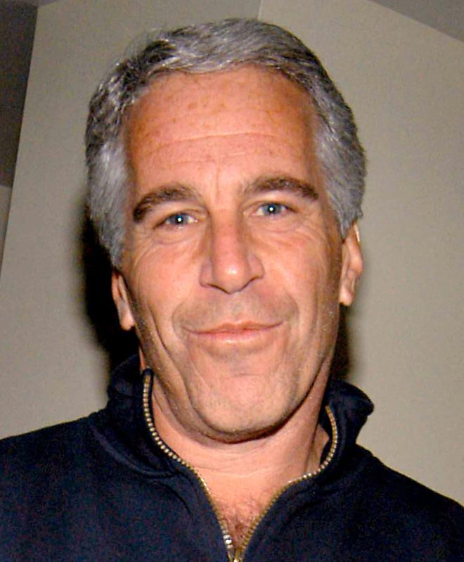 Jeffrey Epstein at the launch of Radar magazine in New York in May 2005