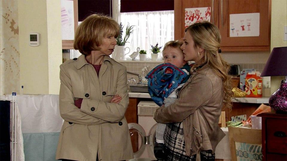 Sarah Platt is left concerned after her mum Gail goes missing