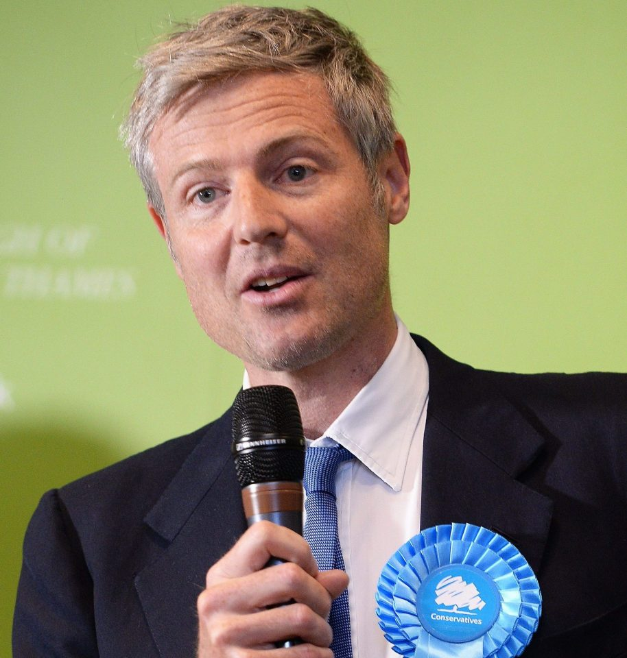Tory MP Zac Goldmsith is Iris Annabel's uncle
