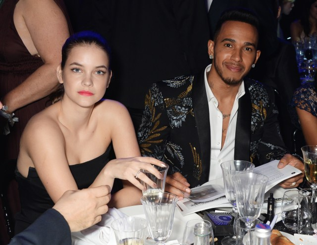 Palvin and Hamilton were seen looking cosy at various events