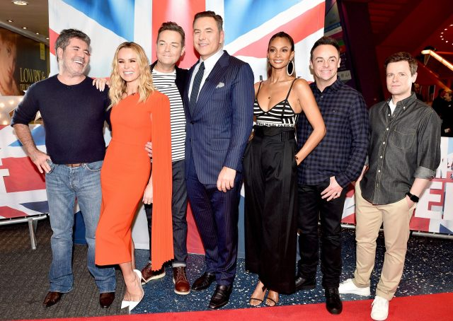 Simon Cowell (far left) is revamping Britain's Got Talent for the latest series