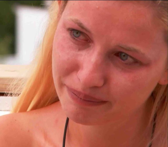 Amy was really upset and heartbroken by Curtis