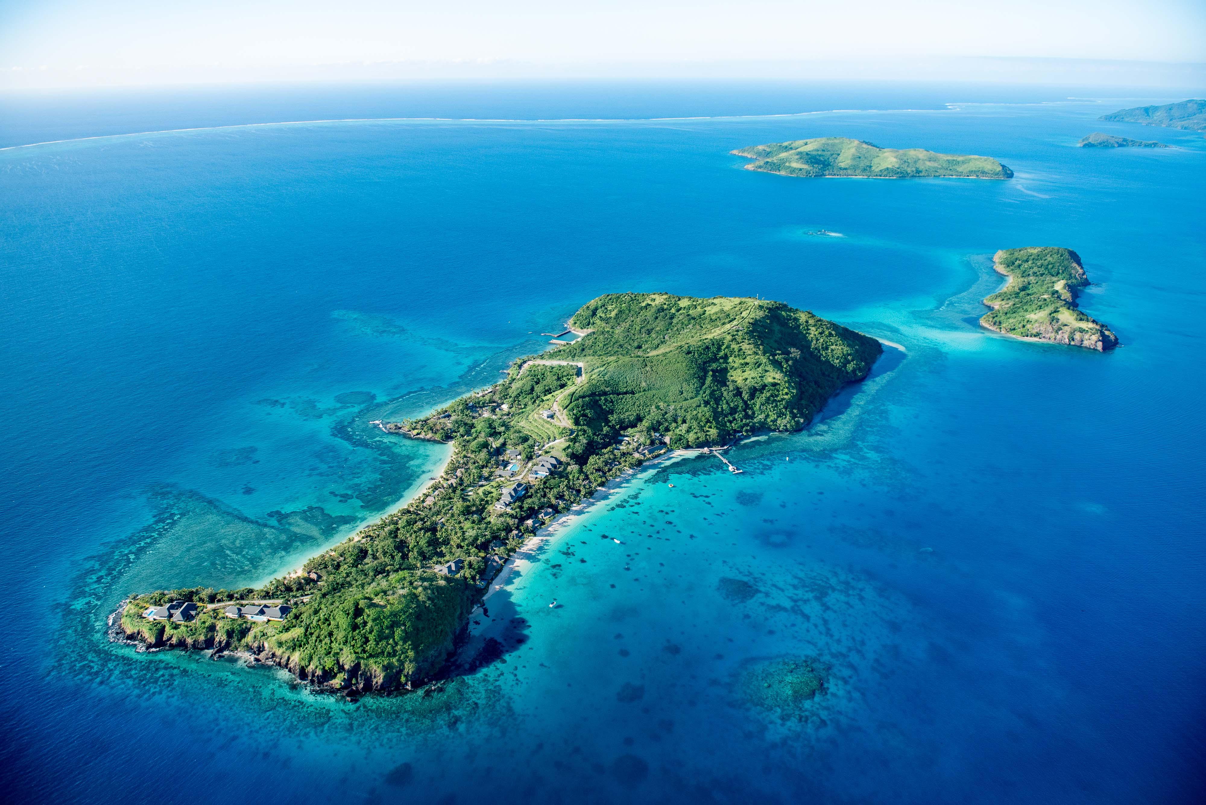 incredible fiji private island