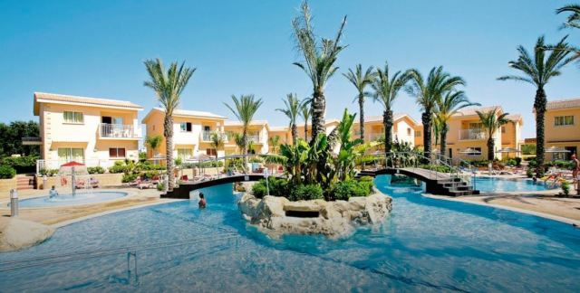 Ms Charlton booked her stay at the Tasia Maris Gardens in Nissi Beach, Cyprus from May 26 to June 2