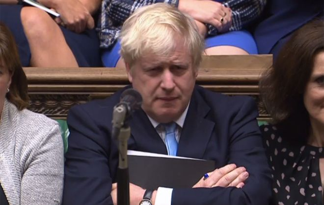 Boris Johnson tried to call for a snap election