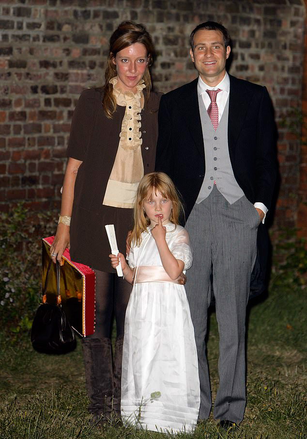 Iris Annabel is the daughter of Ben Goldsmith and Kate Emma Rothschild