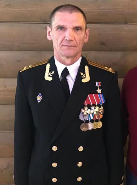 A third first rank captain who died on the mission was named as Nikolay Filin