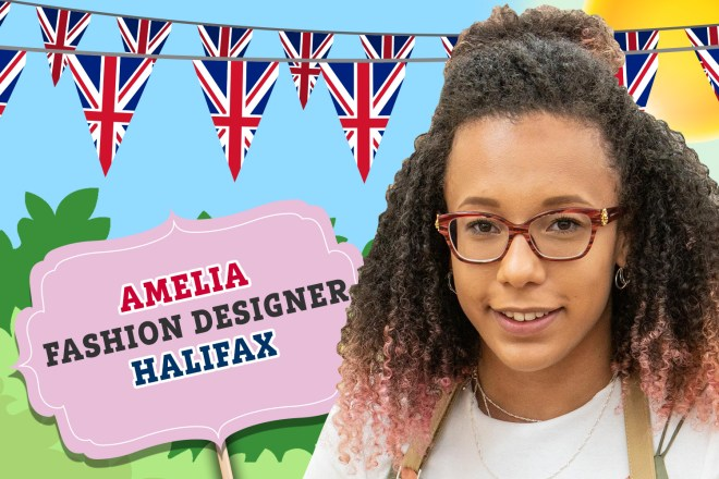 Meet Amelia from Bake Off