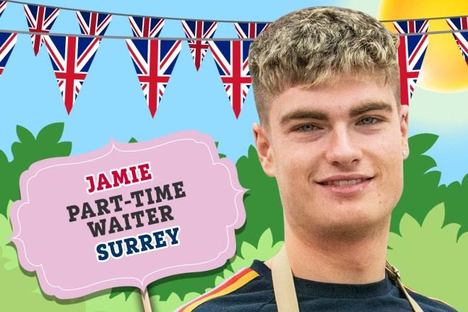 Meet Bake Off 2019's Jamie