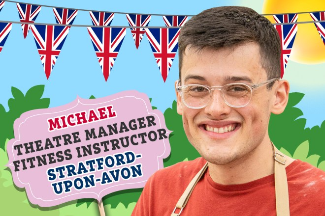 Meet Bake Off 2019 star Michael