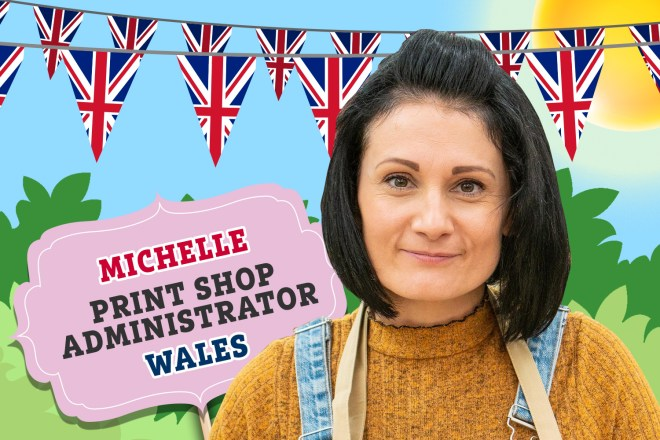 Meet Bake Off's Michelle