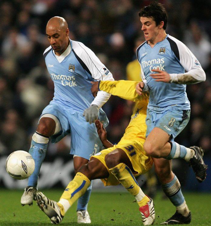Ousmane Dabo and Joey Barton didnt always see eye-to-eye at Man City