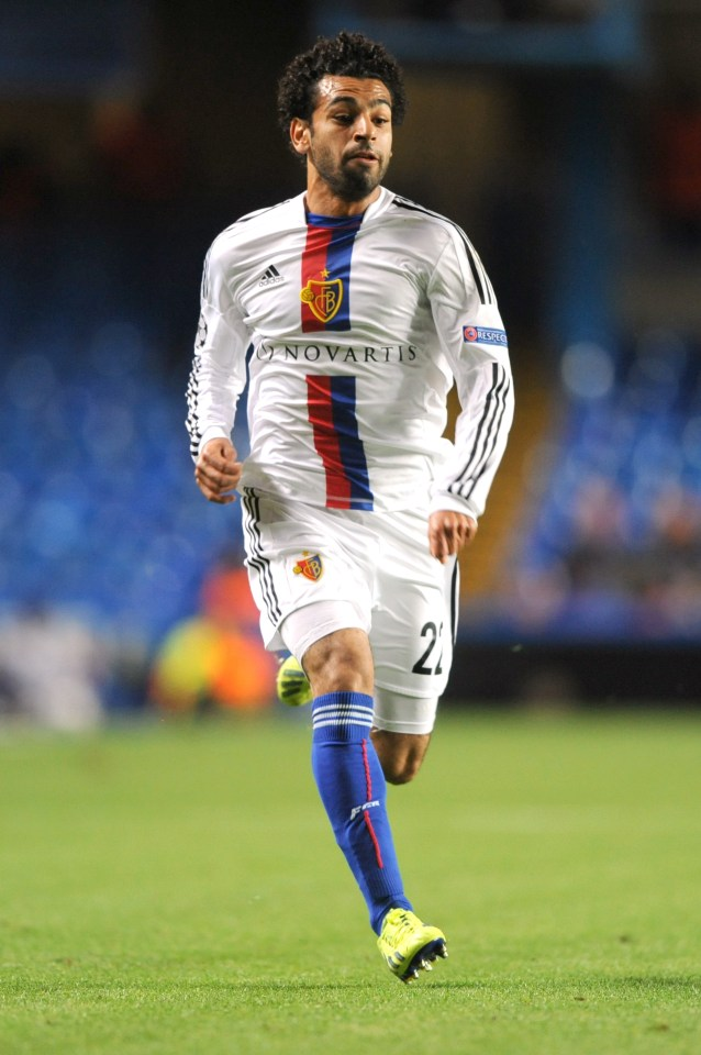 Mohamed Salah signed for Swiss side Basel in 2012 from Egyptian club El Mokawloon