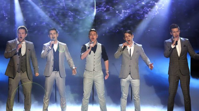 The five-piece won the prize in series 8 of Britain's Got Talent