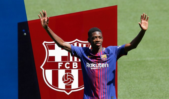 Barcelona could be willing to throw Ousmane Dembele in as part exchange in a bid to sign Neymar