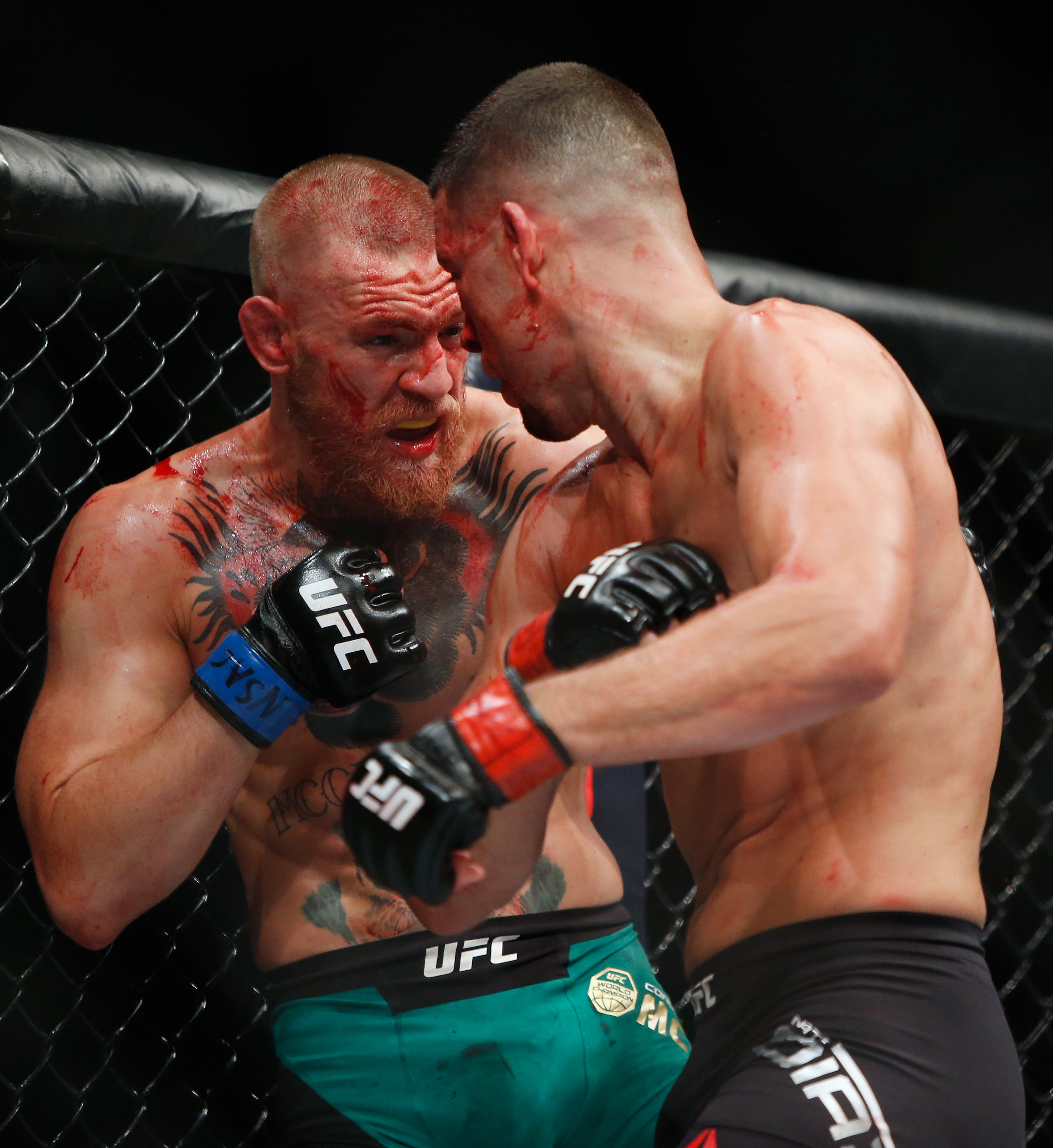 Diaz infamously smoked CBD oil after his rematch defeat to The Notorious - which at the time was on the USADA banned substance list