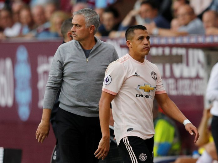 Sanchez quickly fell out with former boss Jose Mourinho