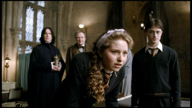 Jessie Cave starred as Lavendar Brown in Harry Potter and the Half Blood Prince