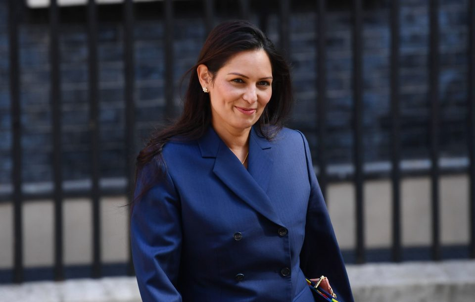 Priti Patel says she wants criminals to 'feel terror' as she wants her party to reestablish 'law and order'